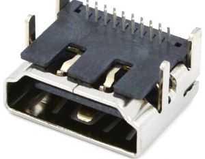 HDMI Soket 2Sıra 19 Pin 90 Derece
