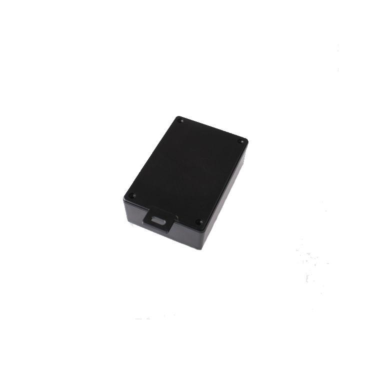 HH062-A Plastik Kutu Askılı Siyah (75x110x36mm)