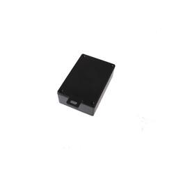 HH062-A Plastik Kutu Askılı Siyah (75x110x36mm) - Thumbnail