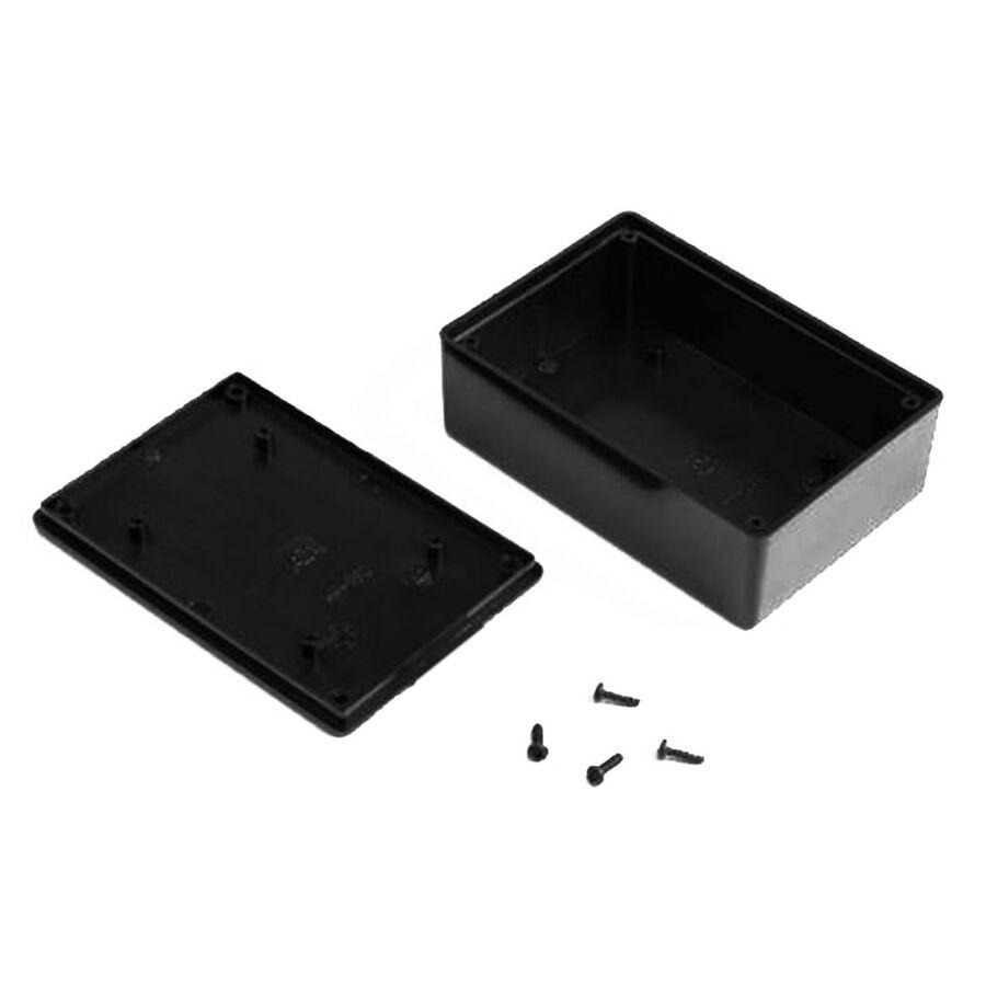 HH062 Plastik Kutu Siyah (75x110x36mm)