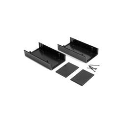 HH8282 Plastik Kutu Siyah (85x155x60mm) - Thumbnail