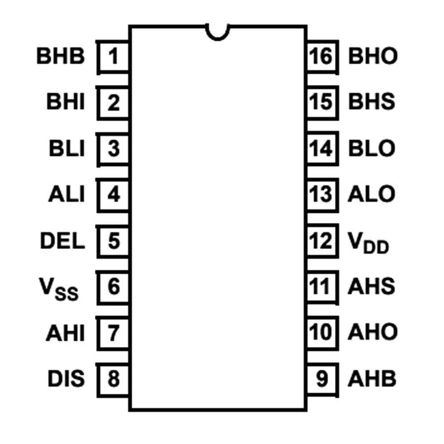 HIP4082 Smd Mosfet Sürücü Entegresi Soic-16