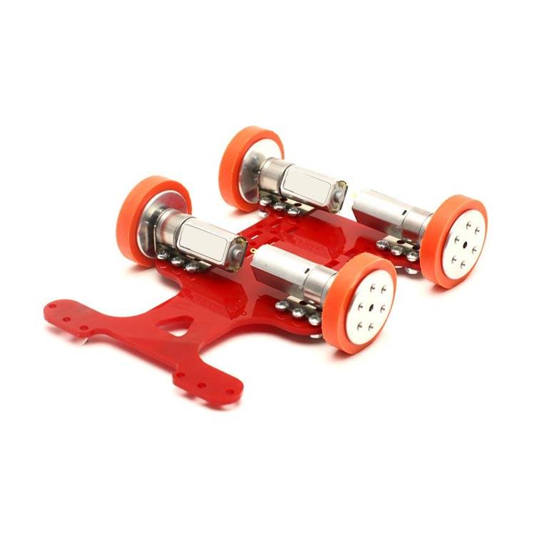 Hızlı Çizgi İzleyen Robot Kiti (Mekanik Set)