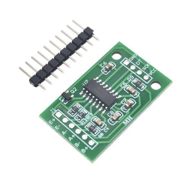 HX711 Çift Kanal Tartı Sensörü Modülü