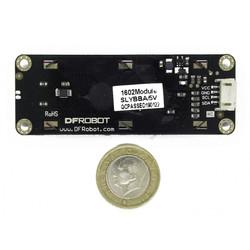 I2C 2x16 Arduino LCD Ekran Modülü (Yeşil) Gravity - Thumbnail