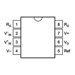 INA114AP Enstrümantasyon Yükselteci Entegresi Dip-8 - Thumbnail