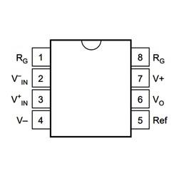 INA118P Enstrümantasyon Yükselteci Entegresi Dip-8 - Thumbnail