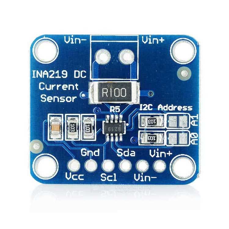 INA219 I2C Çift Yönlü Akım Sensörü Modülü
