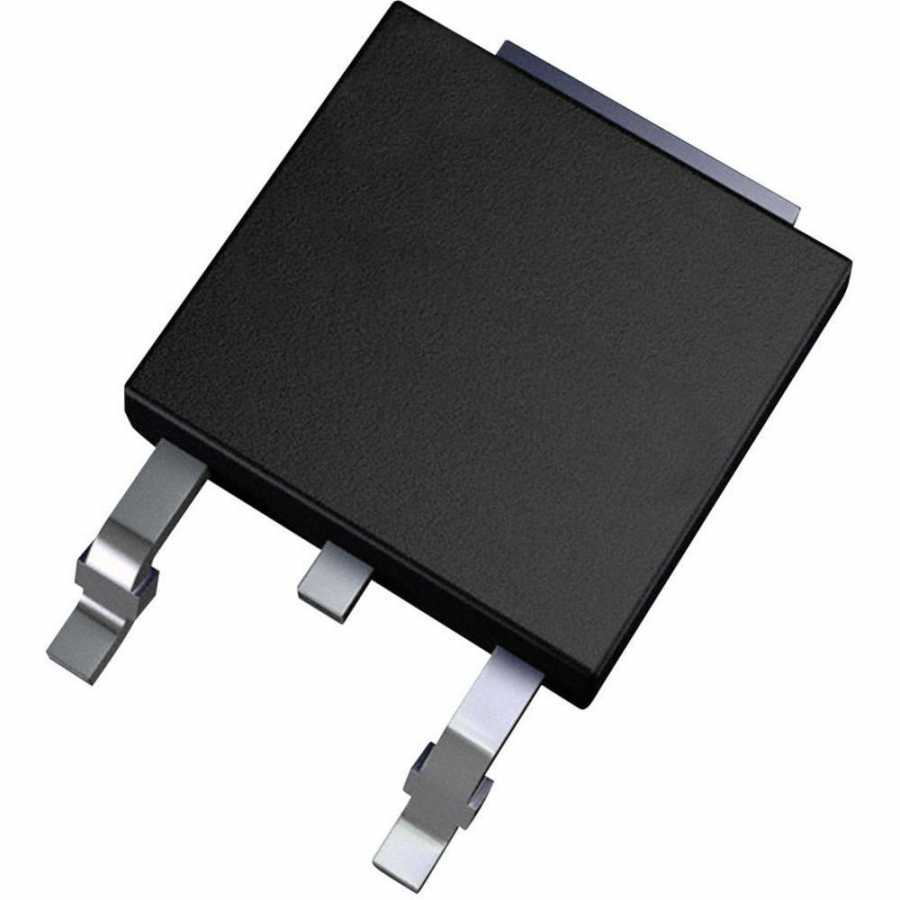 IRF740S N Kanal Mosfet TO-263 SMD