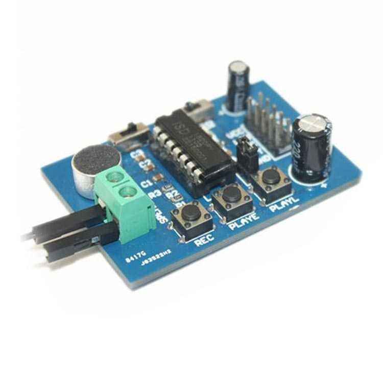 ISD1820 Ses Kayıt ve Çalma Modülü - Hoparlörlü
