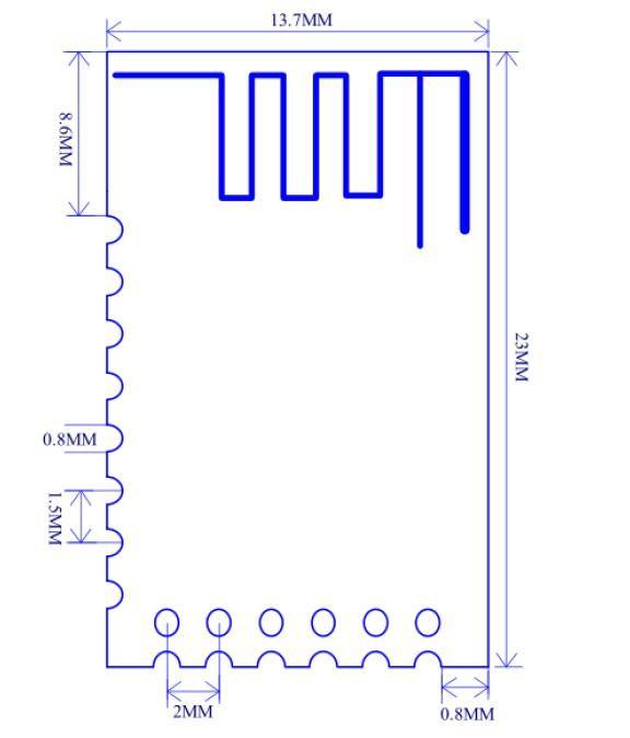 JDY-40 2.4G Kablosuz Seri Port İletim Ve Verici Entegre Uzaktan İletişim Modülü