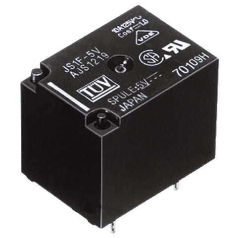 5V 10A Ultra Mini Panasonic Röle - JS1-B-5V-F-T
