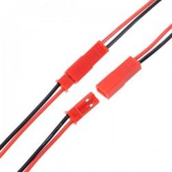 2 Pin 2.25mm JST Kablo (Erkek Dişi Takım) - Thumbnail