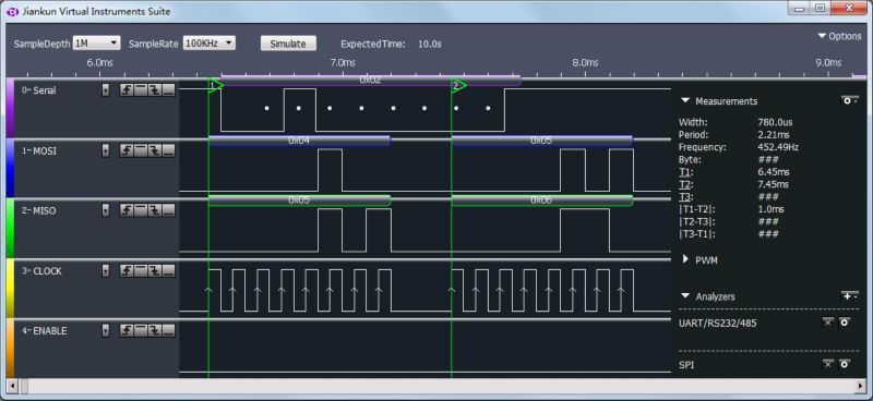 Kingst LA1010 USB Logic Analyzer