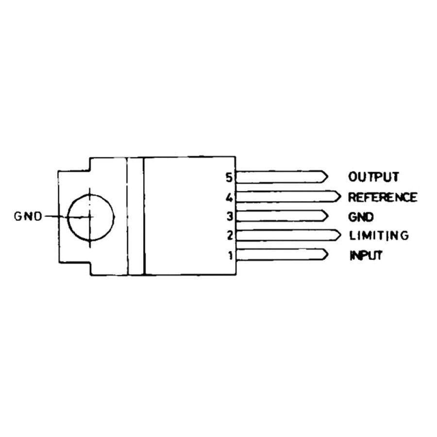 L200CV 40V 2A Lineer Voltaj Regülatörü LB03