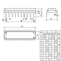 L297 Motor Sürücü Entegresi Dip-20 - Thumbnail