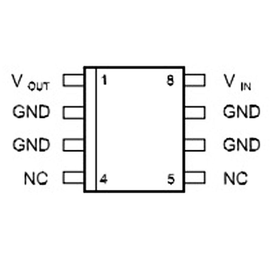 L78L33ACD13TR 3.3V 100mA Lineer Voltaj Regülatörü SOIC8