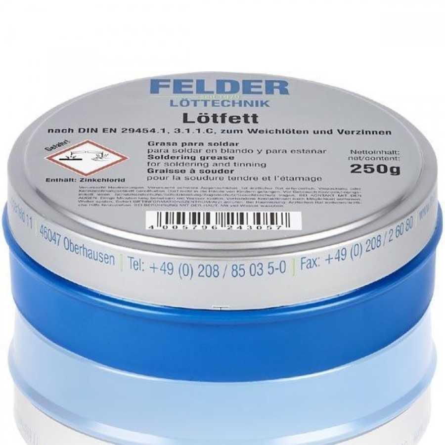 Lehim Pastası 250gram - Lötfett Felder