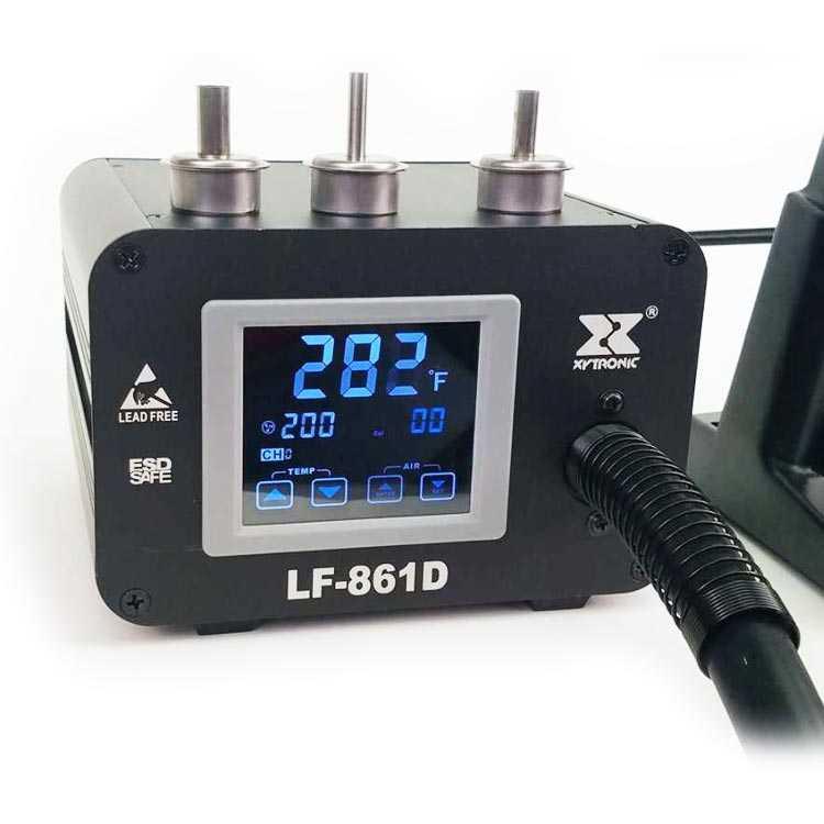LF861-D Xytronic Dijital Isı Ayarlı Sıcak Hava Üflemeli Lehim İstasyonu (Hot Air Reflow)