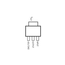 LM1117GS-ADJ-HTC 12V 1A Smd Voltaj Regülatör SOT223-3 - Thumbnail