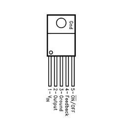 LM2575HVT 3V3 Voltaj Regülatörü - TO220-5 1A - Thumbnail