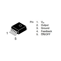 LM2575S-12V SMD Regülatör - Thumbnail