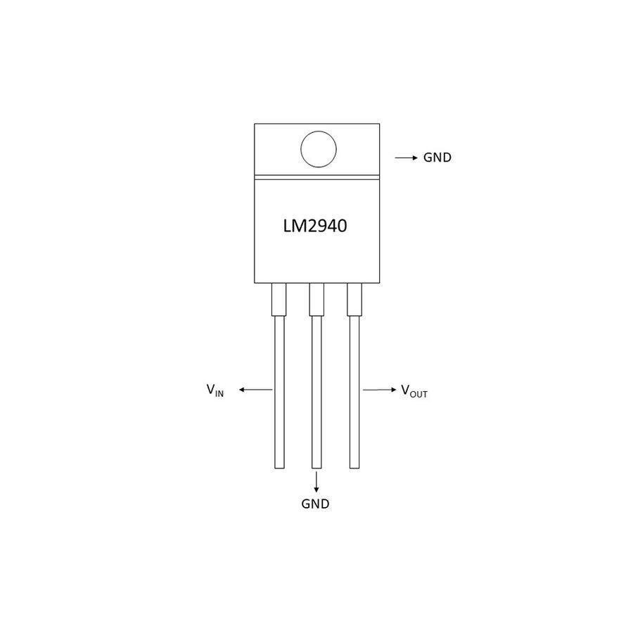 LM2940 12V Voltaj Regülatörü - TO220