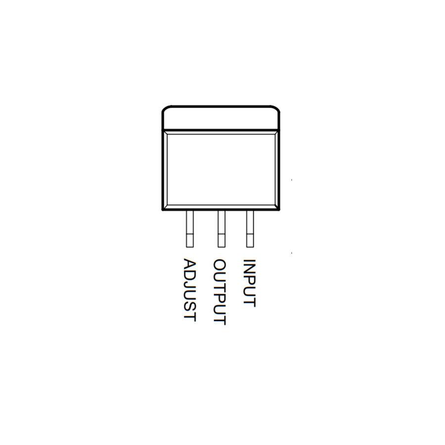 LM317 SMD Dpak2 - Voltaj Regülatörü
