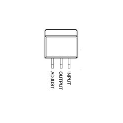 LM317 SMD Dpak2 - Voltaj Regülatörü - Thumbnail