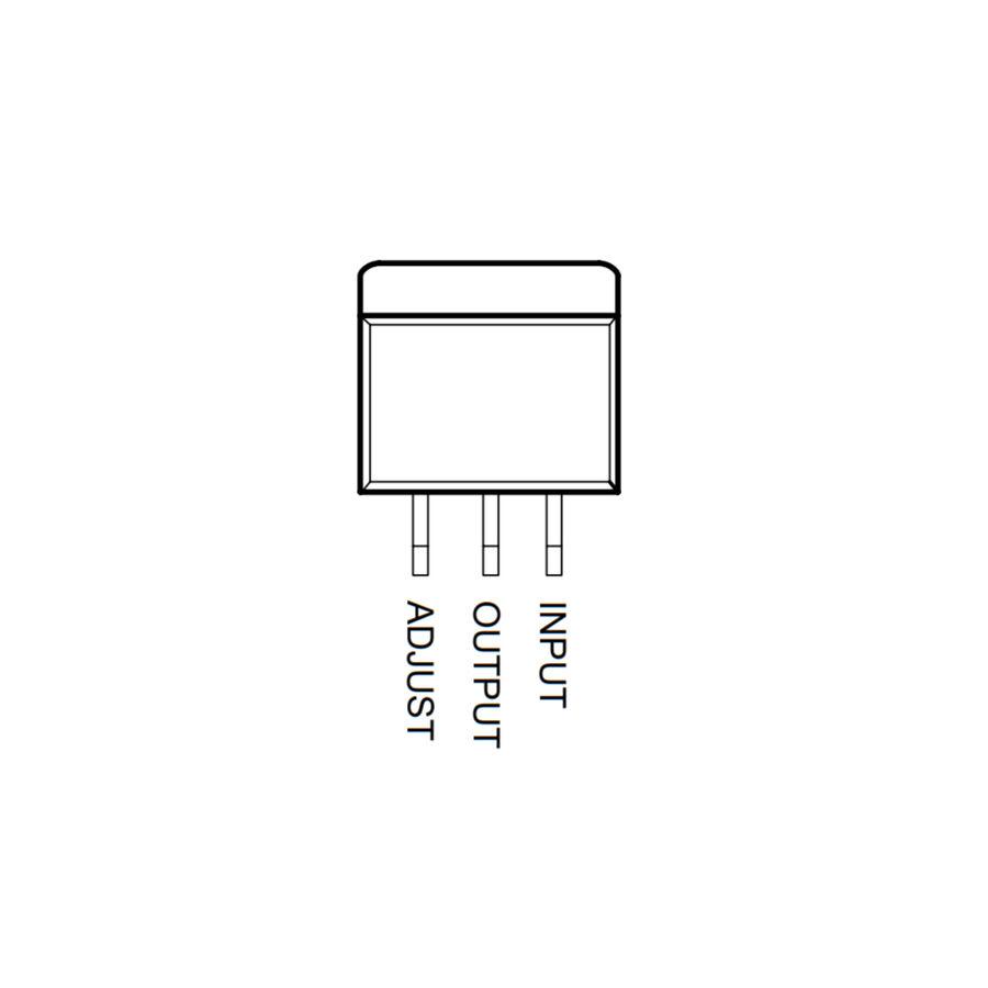 LM317 Voltaj Regülatörü TO252-3 SMD