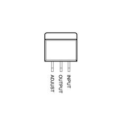 LM317 Voltaj Regülatörü TO252-3 SMD - Thumbnail
