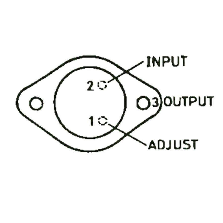LM317K 1.5A Ayarlanabilir Voltaj Regülatörü TO-3