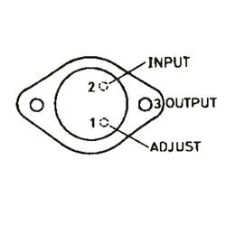 LM317K 1.5A Ayarlanabilir Voltaj Regülatörü TO-3 - Thumbnail