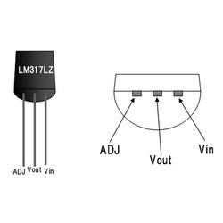 LM317LZ 40V 100mA Ayarlanabilir Voltaj Regülatör TO92-3 - Thumbnail