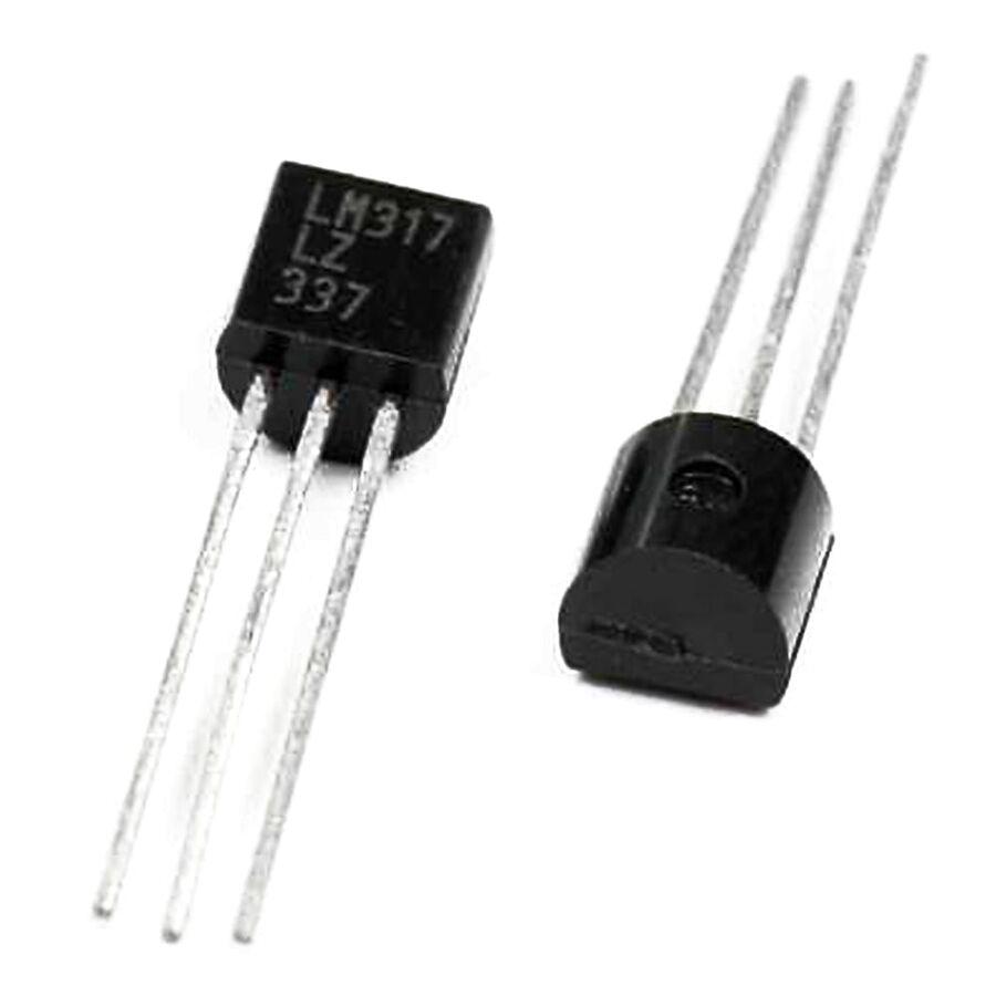 LM317LZ 40V 100mA Ayarlanabilir Voltaj Regülatör TO92-3