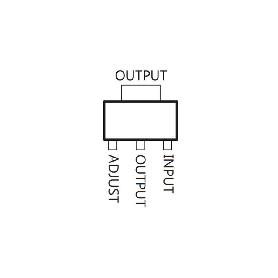 LM317MBSTT3G Lineer Voltaj Regülatör SOT223-3