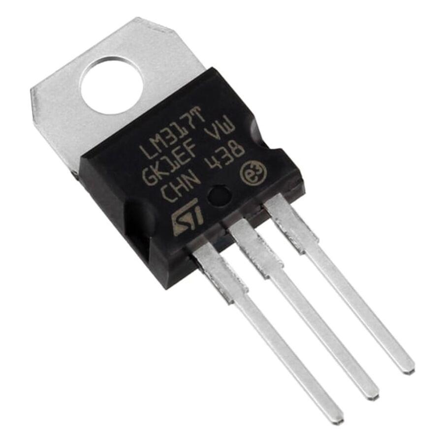 LM317T 1.2V - 37V Ayarlanabilir Voltaj Regülatör TO220-3