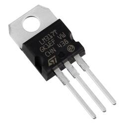 LM317T 1.2V - 37V Ayarlanabilir Voltaj Regülatör TO220-3 - Thumbnail