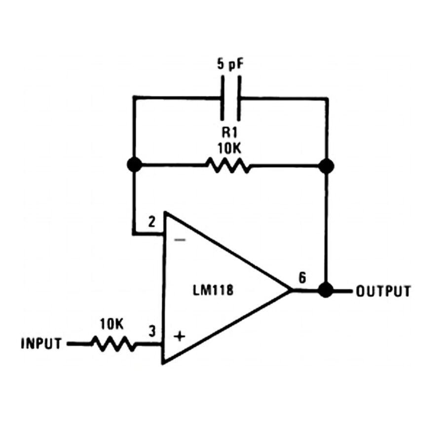 LM318N 5mA OpAmp Entegresi DIP-8