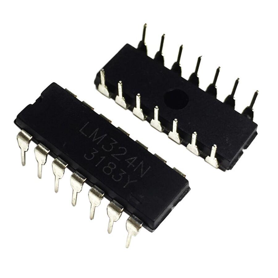 LM324N 5mA 5mV OpAmp Entegresi DIP14