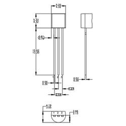 LM336Z5 5V Programlanabilir Şant Regülatör TO92-3 - Thumbnail