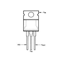 LM337T - Ayarlanabilir Voltaj Regülatörü TO-220 - Thumbnail