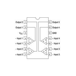 LM339DG Komparatör Entegresi SOIC-14 SMD - Thumbnail