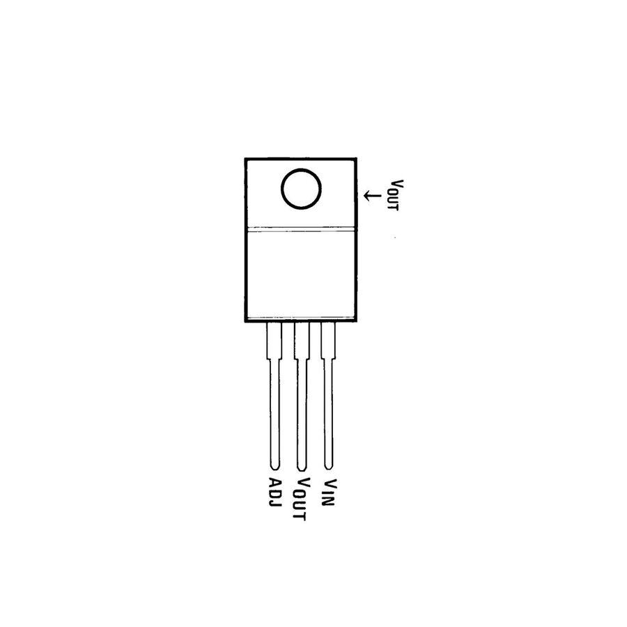 LM350T Voltaj Regülatörü TO220-3 3A
