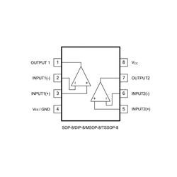 LM358L-D08-T DIP-8 Op-Amp Entegresi - Thumbnail
