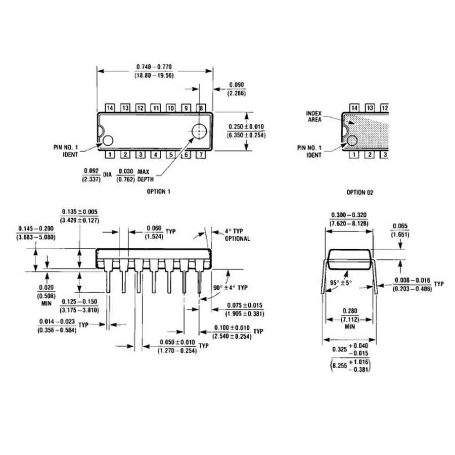 LM380N Ses Amplifikatörü Entegresi Dip-14