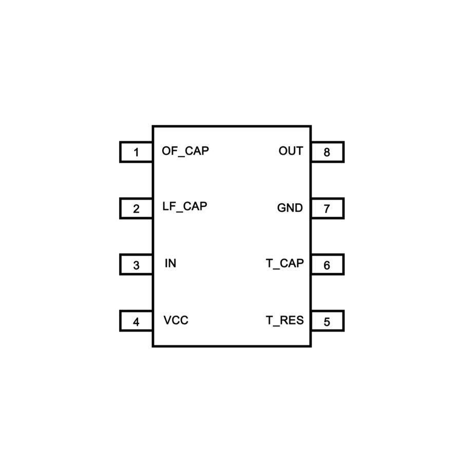 LM567CM Codec Entegresi Dip8