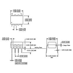 LM741CN OpAmp Entegresi Dip8 - Thumbnail