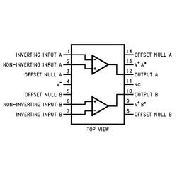 LM747 OpAmp Entegresi DIP-14 - Thumbnail