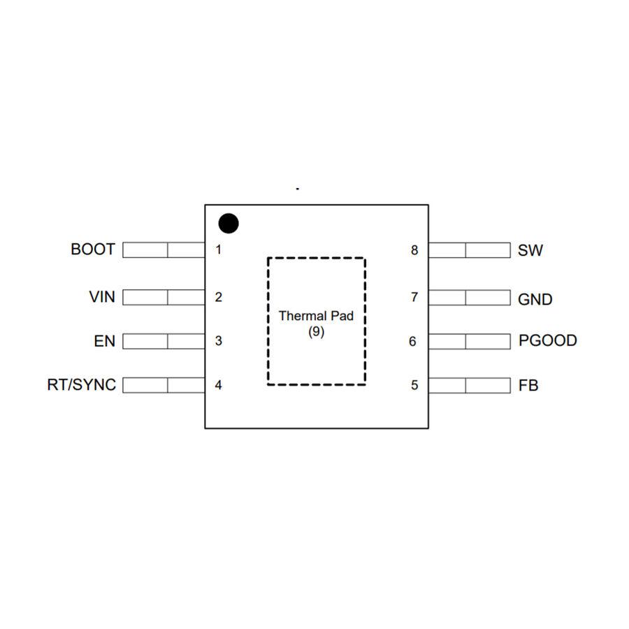 LMR16010PDDA SOIC-8 1A Regülatör